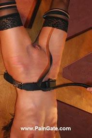 spanking bondage