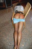 Adult female spanking