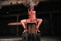hogtied erotic bondage porn