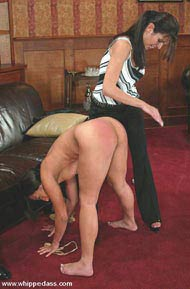 whippedass femdom ass licking punishment