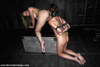 beautiful women in bondage
