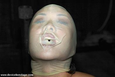 bondage female model