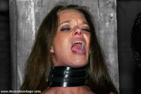 Experienced bondage slave