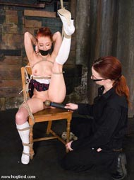 hogtied bondage ponygirl