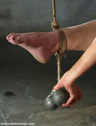 cruel female bondage