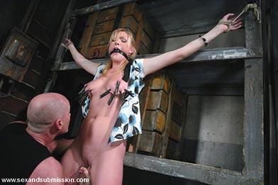 Sexual bondage slaves