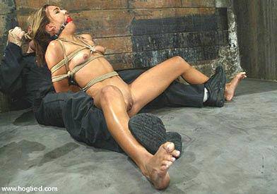 bondage girl helpless