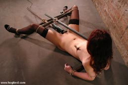 Hogtied bondage sex dvd