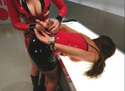 bondage lesbian enema