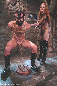 Man spanking man